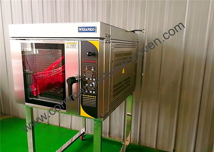 High Durability Bakery Convection Oven Automatic Spray System Less Energy